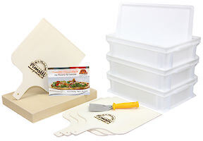 Pimotti Pizzabäcker Set/ Brotbäcker Set Premium
