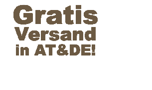 Gratisversand in AT & DE